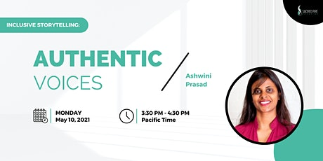 Inclusive Storytelling: Authentic Voices with Ashwini Prasad tickets