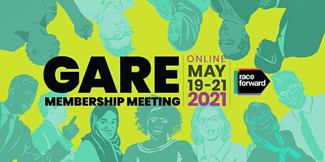 GARE Annual Membership Mtg Democracy for All: Governing for Racial Justice billets