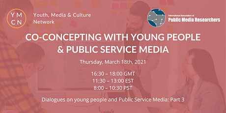 Co-concepting with Young People & PSM - Dialogues@ YMCN & IAPMR tickets