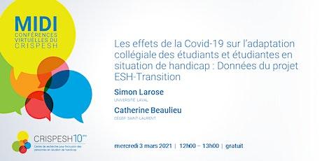 Covid-19 et adaptation collégiale des étudiant.es en situation de handicap tickets