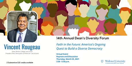 Faith in the Future: America's Ongoing Quest to Build a Diverse Democracy tickets