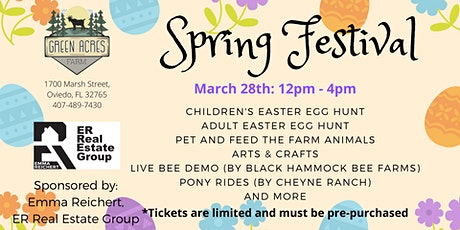 Spring Festival and Easter Egg Hunt tickets