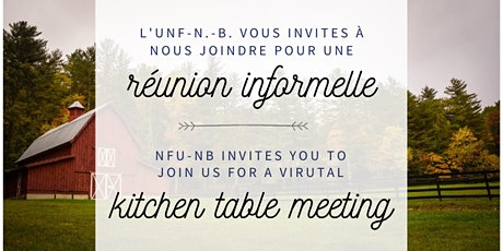 Réunion Informelle / Kitchen Table Meeting billets