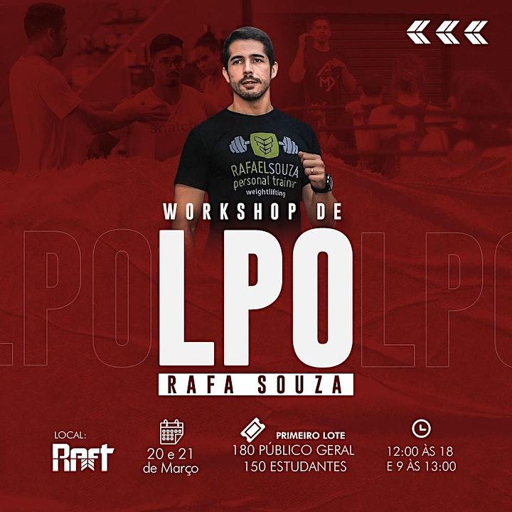 Imagem do evento Workshop de LPO Rafa Souza