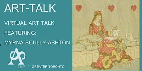 Art Talk with Myrna Scully-Ashton tickets