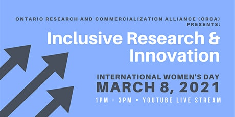 Inclusive Innovation in Research - International Women's Day tickets