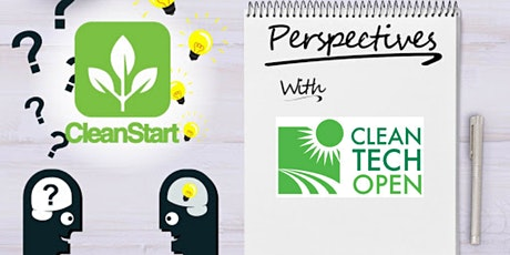 CleanStart Perspectives with Ken Hayes of the Cleantech Open tickets