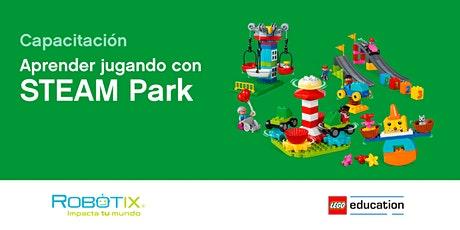 Aprendizaje a través del juego STEAM Park | LEGO® Academy Teacher Training entradas
