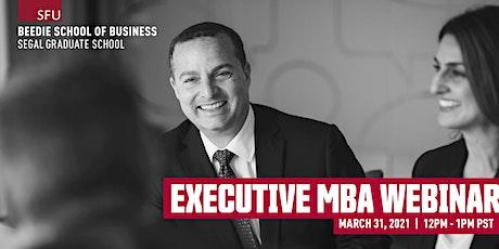 Executive MBA Webinar tickets