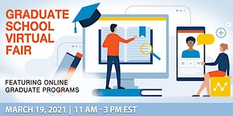 Virtual Fair for Online Graduate Programs tickets