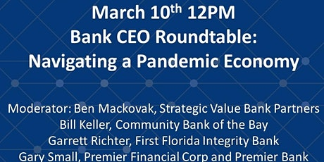 Bank CEO Roundtable: Navigating a Pandemic Economy tickets