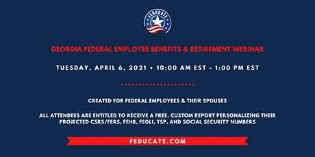 Georgia Federal Employee Benefits & Retirement Webinar tickets