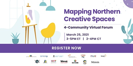 4-Community Mapping Northern Creative Spaces Forum tickets