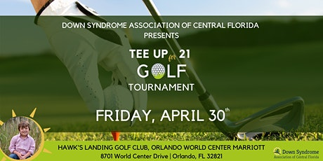 Tee Up for 21 Golf Tournament tickets