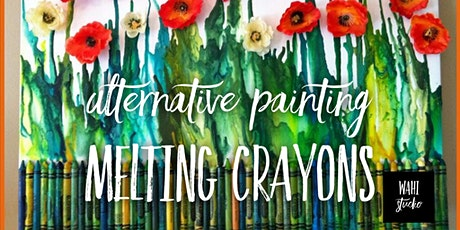Alternative Painting Melting Crayons tickets