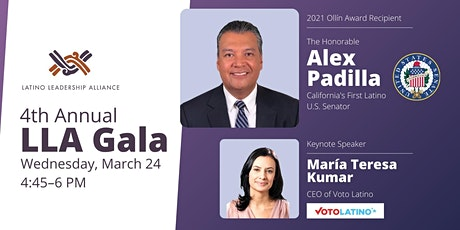 4th Annual Latino Leadership Alliance Gala tickets