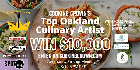 Top Oakland Culinary Artist 2021 Community Partner Meeting #1 tickets