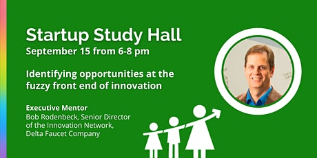 VIRTUAL Startup Study Hall with Bob Rodenbeck tickets