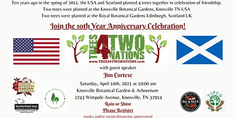 Trees 4 Two Nations 10th Year Celebration tickets