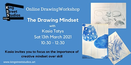 The Drawing Mindset: online drawing workshop tickets