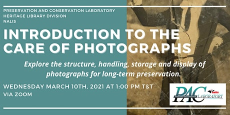 Introduction to the Care of Photographs tickets