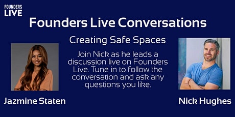 Founders Live Conversations With Jazmine Staten of Cr8 Spaces tickets