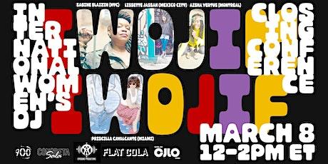 CJLO 1690AM Presents: International Women's Day DJ Conference tickets