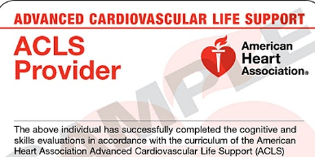 ACLS /Provider Course tickets