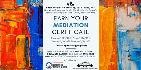 Basic Mediation Training tickets