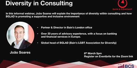 Diversity in Consulting tickets