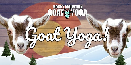 Goat Yoga - March 13th  (RMGY Studio) tickets