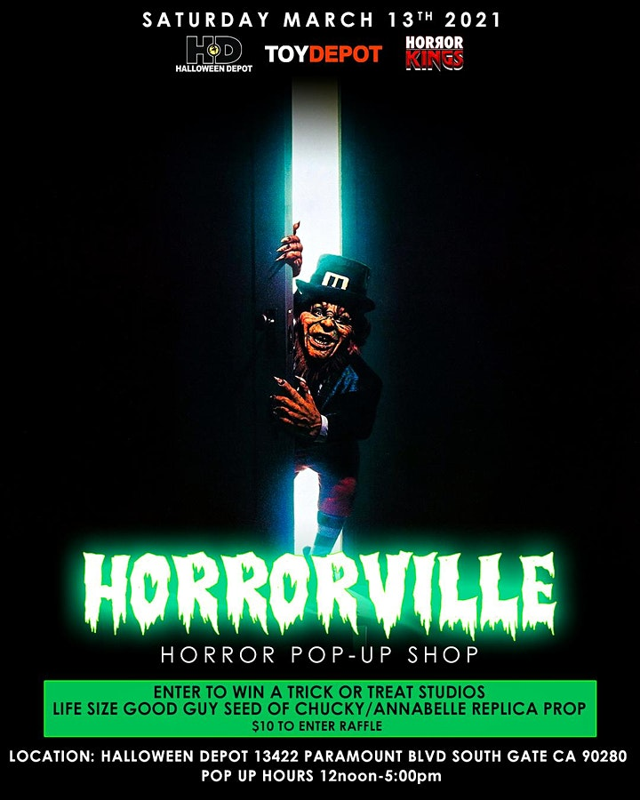 HORRORVILLE Pop-Up Shop At Halloween  Depot image