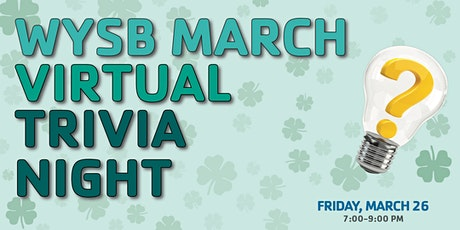 March Virtual Trivia Night tickets