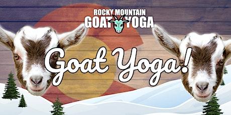 Goat Yoga - March 27th  (RMGY Studio) tickets