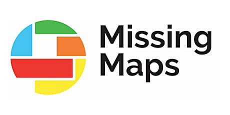 Missing Maps Online Mapathon - Einführung JOSM billets