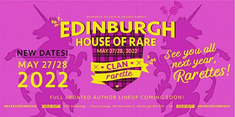Romance Author & Reader Events presents RARE22 Edinburgh tickets
