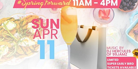 MakeupSincere SipNShop Brunch:  Spring Forward tickets