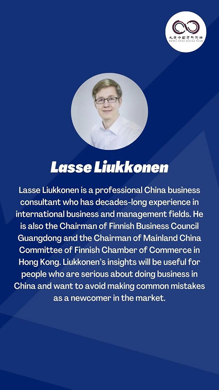 NCSF Helsinki Webinar- Doing Business between Finland and China image