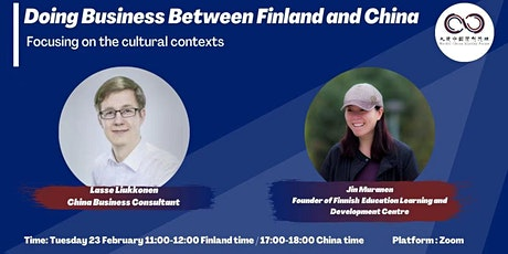 NCSF Helsinki Webinar- Doing Business between Finland and China tickets