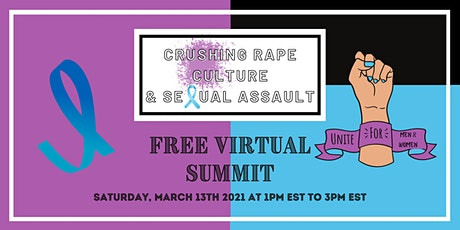 Crushing Rape Culture & Sexual Assault tickets