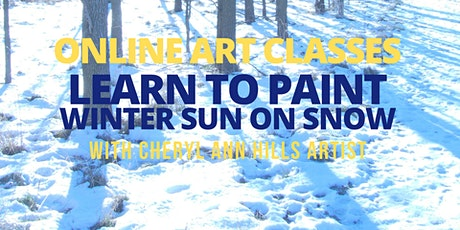 Learn to Paint Winter Sun on Snow tickets