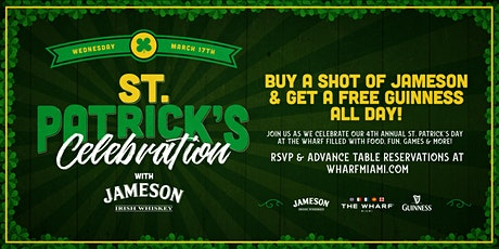 Saint Patrick's Day Celebration at The Wharf Miami tickets