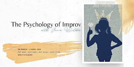 The Psychology of Improv tickets
