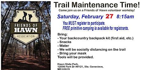 Hawn Trail Maintenance Team tickets