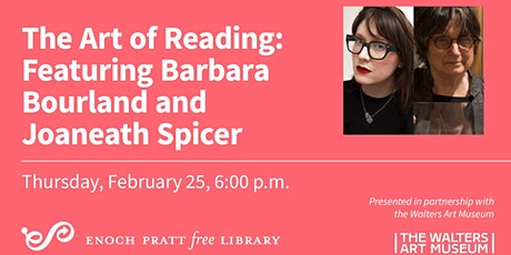 Art of Reading featuring Barbara Bourland tickets