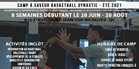 Camp de basketball Dynastie tickets