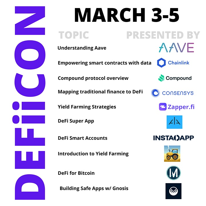 DEFIICON: The DeFi Conference image