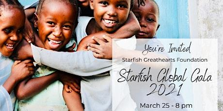 Starfish Global Gala 2021 tickets