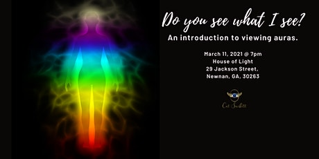 Do you see what I see?  Seeing Auras. tickets