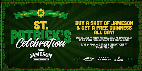 Saint Patrick's Day Celebration at The Wharf Fort Lauderdale tickets